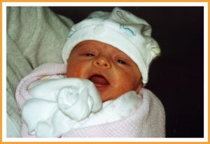 Aria as baby - 9-03-07