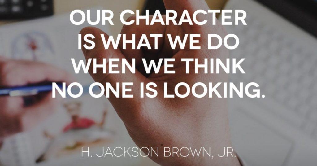 Character Matters | FocusWithMarlene.com
